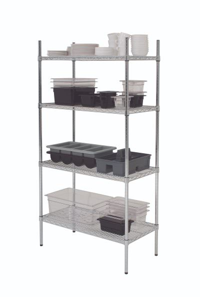 "4 Tier Rack 60"" x 18"" x 72"" (2 Boxes)"