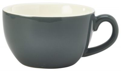 Royal Genware Bowl Shaped Cup 17.5cl/6oz Grey
