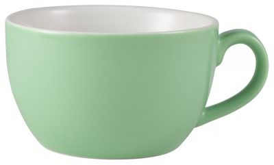 Royal Genware Bowl Shaped Cup 17.5cl/6oz Green