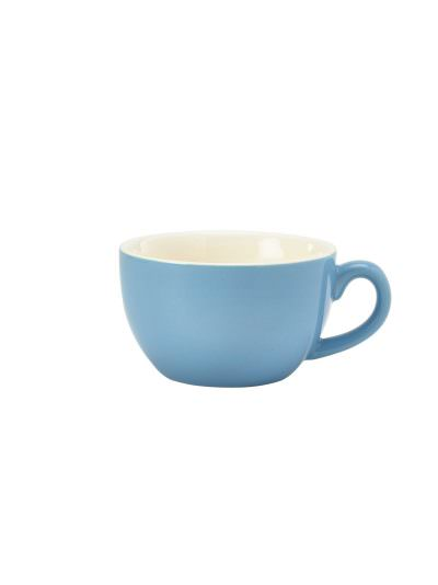 Royal Genware Bowl Shaped Cup 25cl Blue