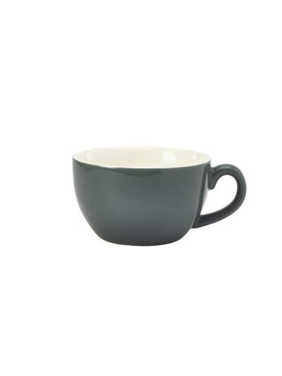 Royal Genware Bowl Shaped Cup 25cl Grey