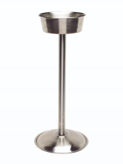 "S/St. Wine Bucket Stand (Satin) 18"""