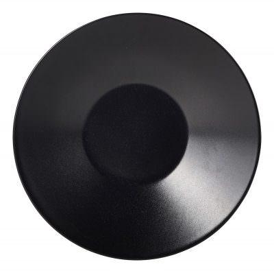 Luna Soup Plate 23 Dia x 5cm H Black Stoneware