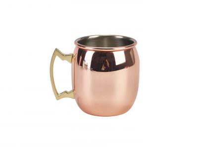 Barrel Copper Mug 40cl/14oz