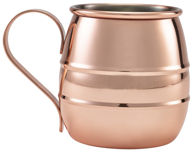 Copper Barrel Mug 50cl/17.5oz