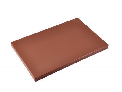 "Brown 1"" Chopping Board 18 x 12"""