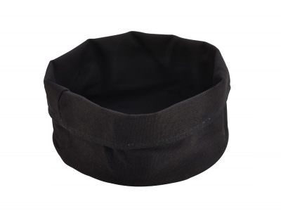 Black Cotton Bread Bag 20DiaX14cm(H)
