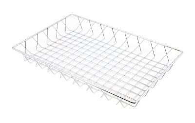 Chrome Display Basket 45X30X5cm