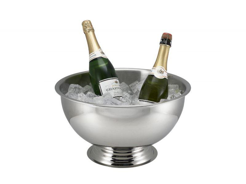 Genware S/St. Champagne Bowl 38cm