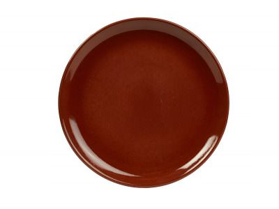 Terra Stoneware Rustic Red Coupe Plate 19cm