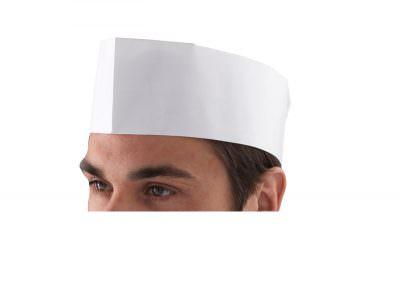 Chef's Disposable Paper Forage Hat (100 Pcs)