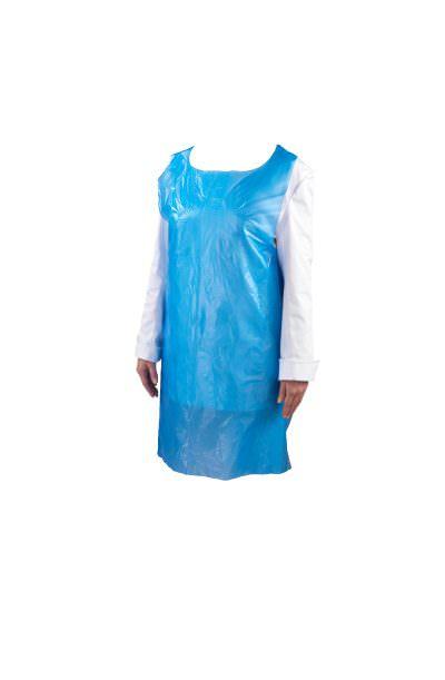 Blue Disposable Pe Apron (100 Pcs)