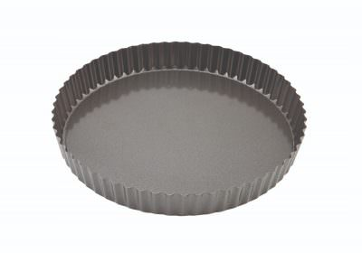 Carbon Steel Non-Stick Fluted Quiche Tin 25cm
