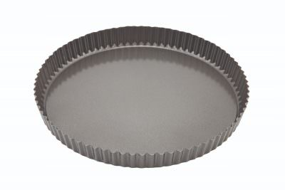 Carbon Steel Non-Stick Fluted Quiche Tin 29cm