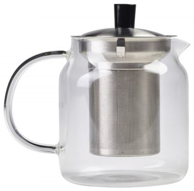 Glass Teapot with Infuser 70cl/24.75oz