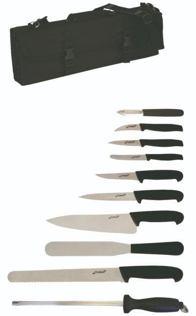 10 Piece Knife Set + Knife Case