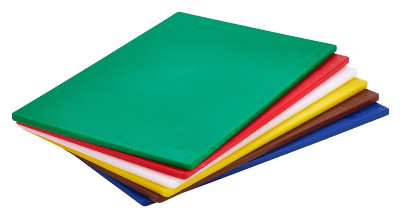 6 Colour (1 Of Each) LD Chopping Boards