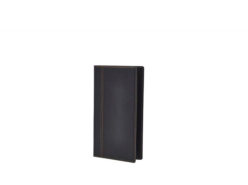 Contemporary Bill Presenter 23 x 13cm Black
