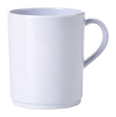 Genware 10oz Melamine Mug White