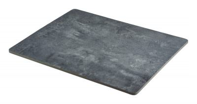 Concrete Effect Melamine Platter GN 1/2