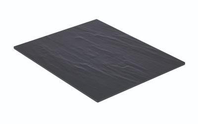 Slate Melamine Platter GN 1/2 32.5X26.5cm