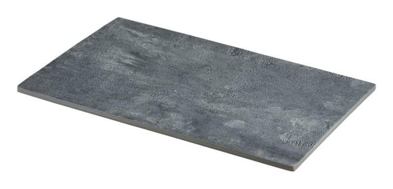 Concrete Effect Melamine Platter GN 1/4