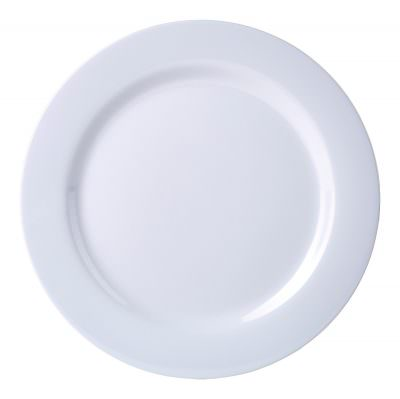 "Genware 7"" Melamine Plate White"