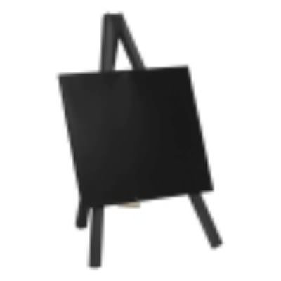 Mini Chalkboard Easel 24 X 11.5cm Black Pk 3
