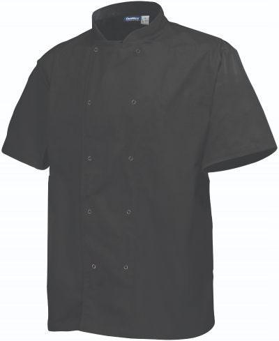Basic Stud Jacket (Short Sleeve) Black S Size