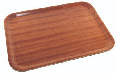 Non-Slip Darkwood Tray 46 x 34cm