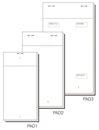 Order Pad 100 Sheet Single 127X63mm Box 50