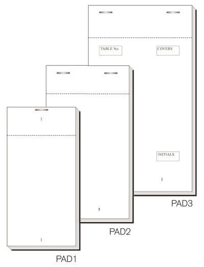 Order Pad 50 Sheet Dup Carbon 140X76mm Box 50