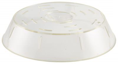 """Plastic Stackable Plate Cover 10"""" 6cm High"""