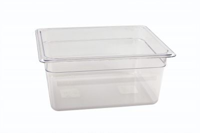 1/2 -Polycarbonate GN Pan 150mm Clear