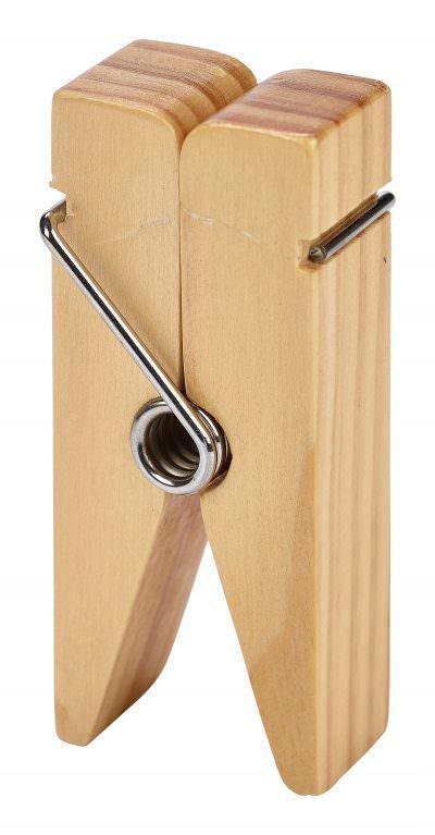 Wooden Peg Sign Holder