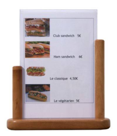 Table Board 21X30cm Large Teak PVC Insert