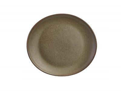 Terra Stoneware Antigo Oval Plate 21x19cm