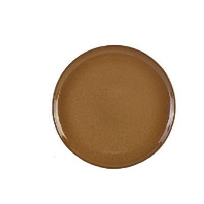 Terra Stoneware Rustic Brown Pizza Plate 33.5cm