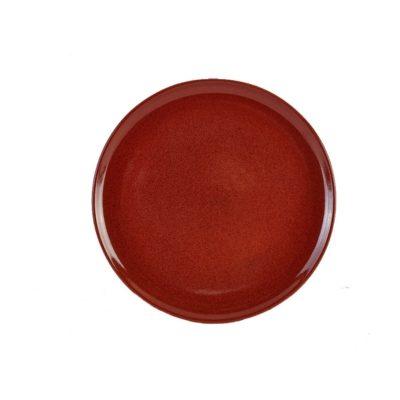 Terra Stoneware Rustic Red Pizza Plate 33.5cm