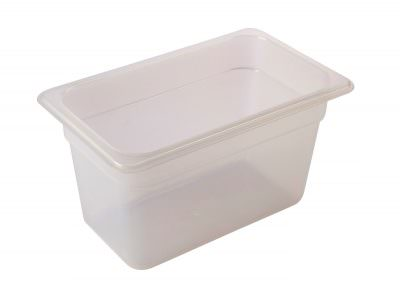 1/4 -Polypropylene GN Pan 150mm Clear