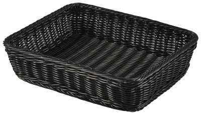 Polywicker Display Basket GN 1/2 Black