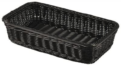 Polywicker Display Basket GN 1/3 Black