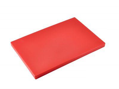 "Red 1"" Chopping Board 18"" x 12"""