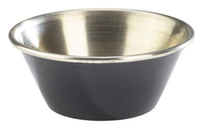 1.5oz Stainless Steel Ramekin Black