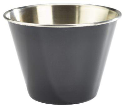 12oz Stainless Steel Ramekin Black