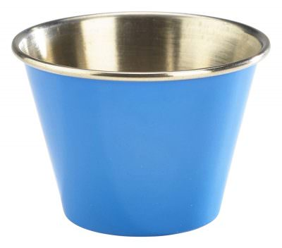 2.5oz Stainless Steel Ramekin Blue