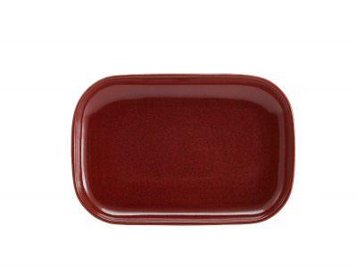 Terra Stoneware Rustic Red Rectangular Plate 29 x 19.5cm