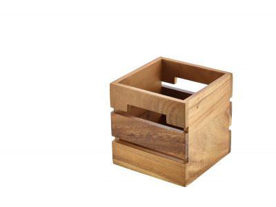 Acacia Wood Box/Riser 15x15x15cm