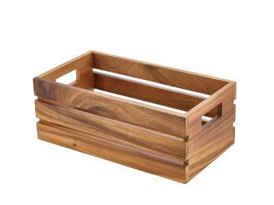 Acacia Wood Box/Riser GN 1/3