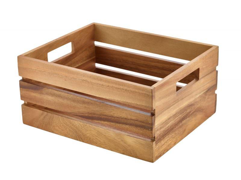 Acacia Wood Box/Riser GN 1/2